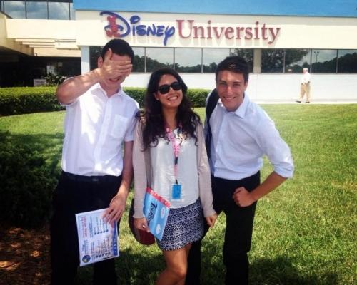 Walt Disney World International College Programı 2008-2012