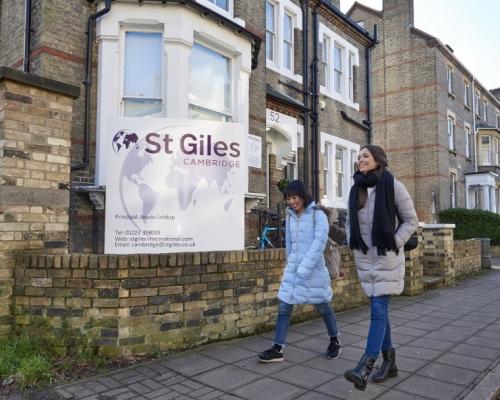 St.Giles International - Cambridge - İngiltere